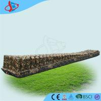 China Durable Inflatable Sports Games Camouflage Color Giant Inflatable Zip Line on sale