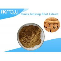 Quality 20% UV Panax Ginseng Root Extract Powder , Pure Natural Ginseng Herbal Supplement for sale