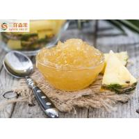 China Delicious Pineapple Canning Fruit Jam With Yellow Different Sizes on sale