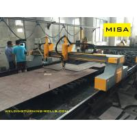 China 4000mm CNC Flame Plasma Cutting Machine Hypertherm Power Source Automatic Ignition on sale