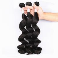 China Unprocessed Virgin Human Hair Bundles Loose Deep Wave Human Hair Weave For Black Woman for sale