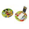 Best Circular Business Card USB Flash Drives 128mb 256mb 512mb wholesale