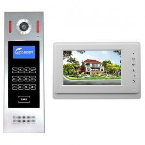 Quality Wires Outdoor Intercom system 7 inch LCD screen building video door phone building intercom video doorbell housing for sale