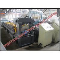 Quality Aluminium / Steel Stepped Roofing Ridge Cap Corrugated Sheet Roll Forming Machine for sale