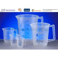 Quality Custom Labware 500 ml , 150 ml PP Plastic Measuring Beakers , Cups for laboratory for sale