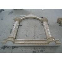 China Polished Natural Building Stone G682 Sunset Gold Granite Window Sill on sale