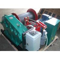 China 20t single drum electric crane winch for lifting wok together with crane on sale