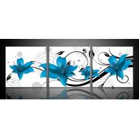 Buy cheap 3pcs panel decorative custom canvas printing Print on pure cotton canvas from wholesalers