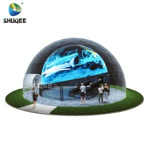Quality Curved Screen 360 Dome Theater With 4DM Electric Motion Seats For Museum,Theme Park,Theater for sale