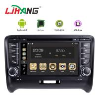 Quality Steering Wheel Control Audi In Car Dvd Player , Audi TT Car Dvd Player Gps Navigation for sale