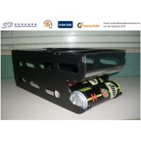 Quality Custom retail Plastic Shelf Display , drinks rack ABS + Clear PC + Aluminum Bars Material for sale