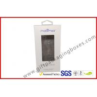 Quality offset print paper box Card board packaging box with clear PVC window for sale