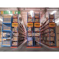Quality ISO Warehouse  VNA Racking System Flour Selective Customized Printing Galvanized Storage for sale