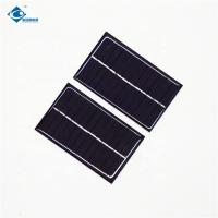 China 5V 0.6W transparent thin film solar panel for MP3 ZW-9055 Poly solar panel for solar car battery charger on sale