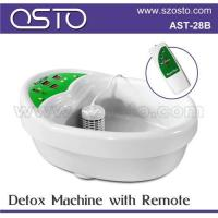 Buy cheap Ion detox foot spa with pads from wholesalers