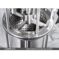 Automatic Self Cleaning Scraper Filter with stainless steel for juice filtration