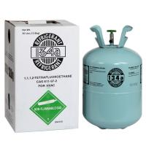 China Refrigerant gas R134a 30LB 13.6kgs on sale