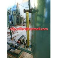 Quality used engine oil recycling machine ,black car oil vacuum distillation to yellow color for sale