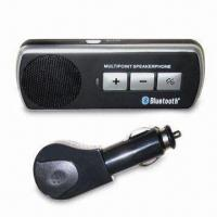 China Bluetooth Handsfree Speakerphone with Built-in Speaker and Microphone on sale