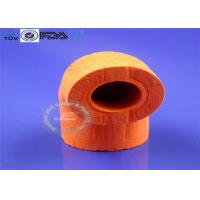 Quality Red OEM Molded Silicone Parts New Design Open Cell Foam Tube Type for sale