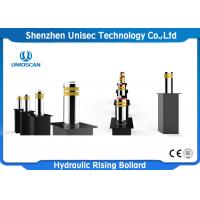 Quality High Security Hydraulic Rising Bollards Automatic Retractable Parking Bollards for sale
