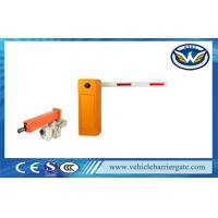 China Automatic Boom Barrier Gate With Single Bar , Screen Traffic Barrier gate on sale