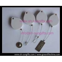 Quality Hot-sale white color theft proof box with special water drop shape for sale