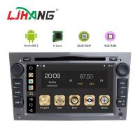 Quality Android 8.1 Opel Car Radio HMDI Output Double Din With Black Grey Silver Frame for sale