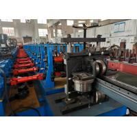 Quality Warehouse Heavy Duty Rack Roll Forming Machine, 3mm Thick Upright Rack Production Line for sale