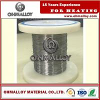 Best Cr20Ni80 Thermoelectric / Heating Nichrome Alloy Wire For Ceramic Pad Heater wholesale