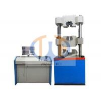 Quality Clip On Extensometer Hydraulic Tensile Testing Machine Adopting Remote Controller for sale