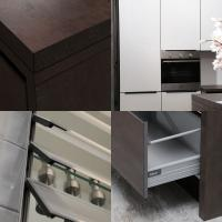 Best 2014 New Greenhome Sinter Rock Noble Wooden Kitchen Cabinets wholesale