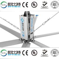 Buy OPT 24ft industrial HVLS fans for big factory cooling and ventilation with big at wholesale prices