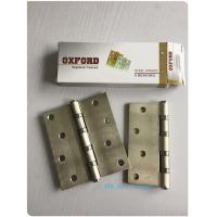 Quality Washer 4BB 2BB Residential Ball Bearing Door Hinges Golden Polished Steel for sale