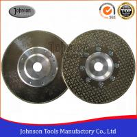 Buy Single Side Star Diamond Disc Blades / Electroplated Grinding Wheels at wholesale prices