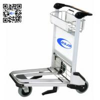Best 6063 high strength aluminum airport cart trolley airport luggage cart wholesale