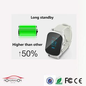 China Lightweight GSM tracker wrist watch for Kids Senior Citizen on sale
