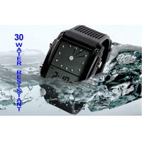 China Water Resistant LCD Analogue Watch Dual Time Unisex Wristwatch on sale