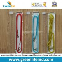 Quality Speical Seprately Arylic Box Packing Colorful Fishing Coiled Lanyard Holder for sale