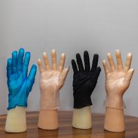 Quality Safety PVC Disposable Protective Gloves Medical Grade FDA CE ISO Approved for sale