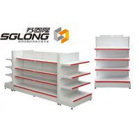 Supermarket Storage Racks Store Display Equipment 80KG - 150KG Capability for sale