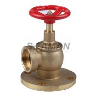 "Quality Fire Hydrant Valve with Flange PN 16 Male 1.5"" Right Angle with Female Thread - Brass for sale"