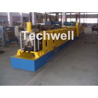 Quality Wall Plate Structure Cold Roll Forming Machine With 0-15m/Min Forming Speed For Making Top Hat Channel for sale