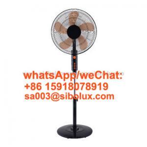 Quality 18 inch plastic colorful standing fan with round base /AC Power Source/ Ventilador De Pie/electruc stabd fan for sale