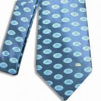 China 100% Silk Necktie, Available in a Variety of Designs on sale