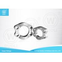 Buy SAE J518 Split Flange Clamp Hydraulic Fittings High Pressure ISO 6162 Carbon at wholesale prices