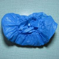 Quality Anti Bacterial CPE Disposable Shoe Covers , Plastic Non Skid Shoe Covers for sale