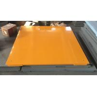 Quality Hot Galvanized Carbon Steel Floor Weighing Scales 1.5x1.5m 3t / 5t Single Deck for sale