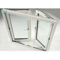 Weather Resistance Double Glazed Sash Windows With Stainless Steel Security Mesh