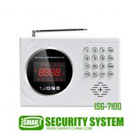 China SMS remotely control IOS & Android app Support multi-language home security gsm alarm system on sale